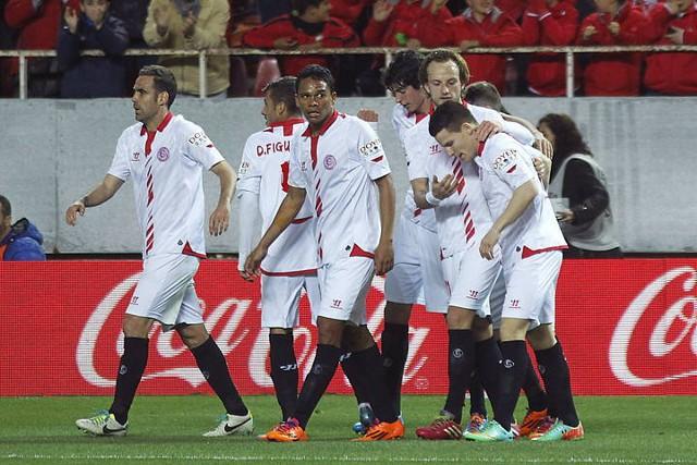 El Sevilla lucha por entrar en Europa