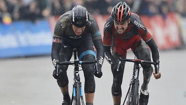 Stannard venció al sprint a Van Avermaet