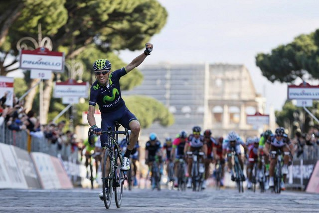 Valverde gana la Roma Maxima 2014