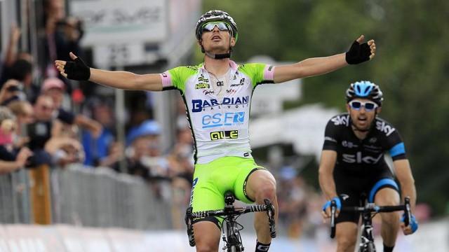 Bttaglin repitió y también ganó etapa en el Giro 2014