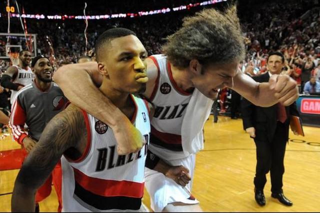 Los Blazers han eliminado a los Rockets