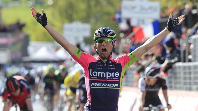 Ulissi ganó la quinta etapa del Giro 2014