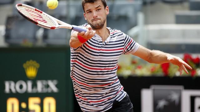 Dimitrov a semifinales en Roma
