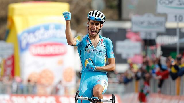 Fabio Aru consigue una gran victoria en el Giro