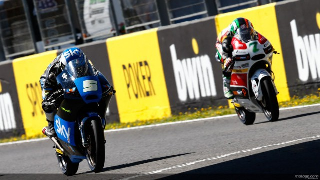 Fenati sumó su segundo triunfo en Jerez