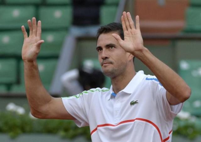 Garcia Lopez vence a Wawrinka en Roland Garros