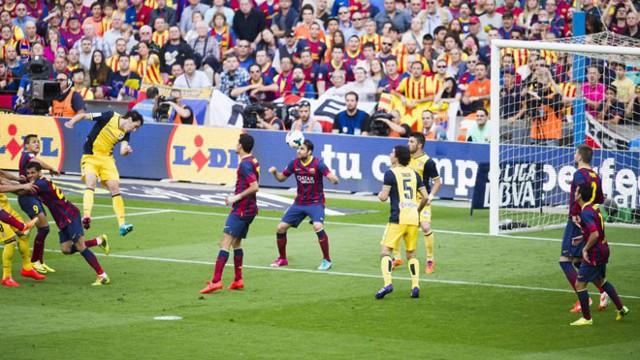 El gol de Godín valió una liga para el Atlético de Madrid