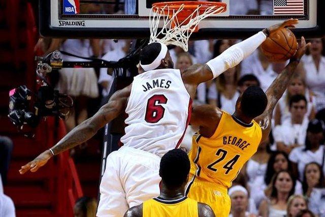Los Heat vencieron a los Pacers en la final de la Conferencia Este