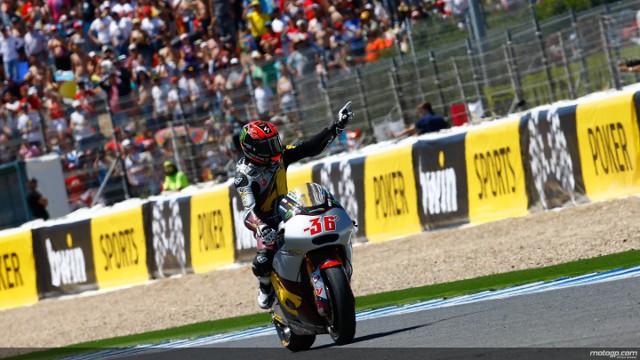 Kallio se lleva pole y victoria de Jerez