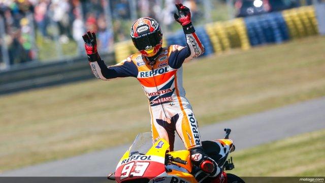 Márquez suma y sigue con otra victoria en Le Mans