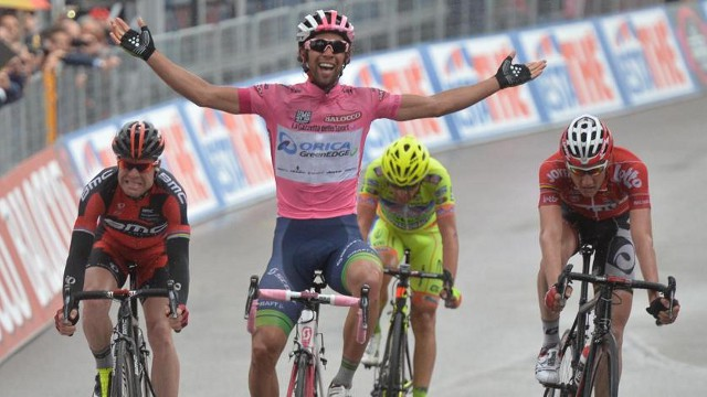Matthews ganó la etapa con final en Montecassino