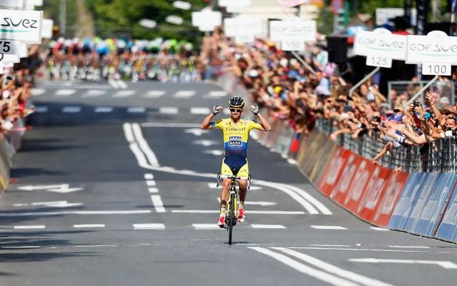 Rogers ganó la undécima etapa del Giro de Italia 2014
