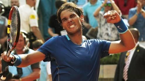 Nadal campeón en Madrid por lesión de Nishikori