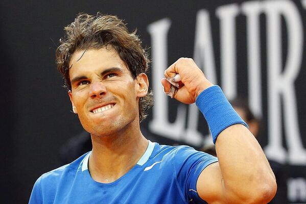 Nadal vence a Murray en Roma y es semifinalista