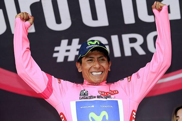 Nairo Quintana ya es el líder del Giro de Italia 2014