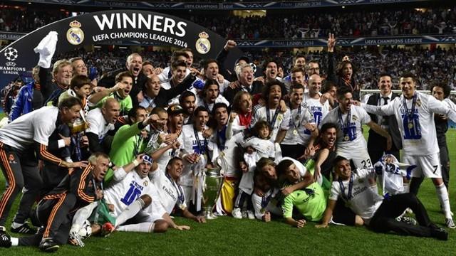 Real Madrid con su décima Copa de Europa