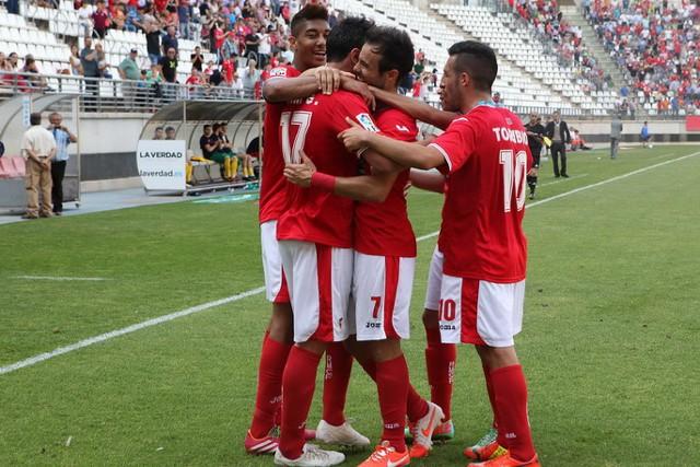El Real Murcia atraviesa su mejor momento de la temporada