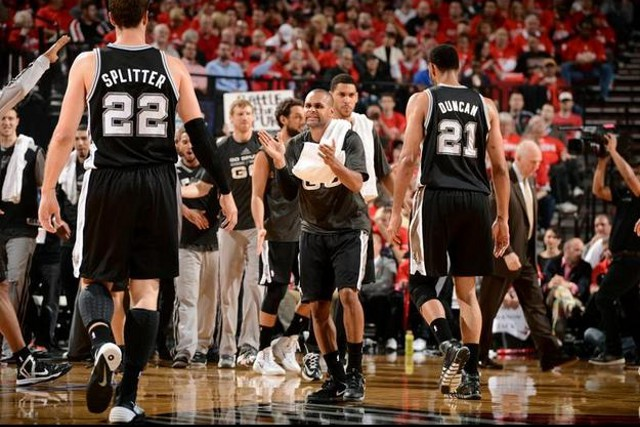 Los Spurs llegan a las finales de Conferencia otro año más
