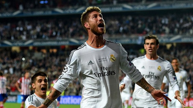 El gol de Sergio Ramos forzó la prórroga