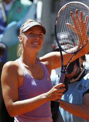 Sharapova captura título en Madrid
