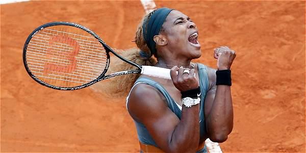 Williams retiene el título en Roma