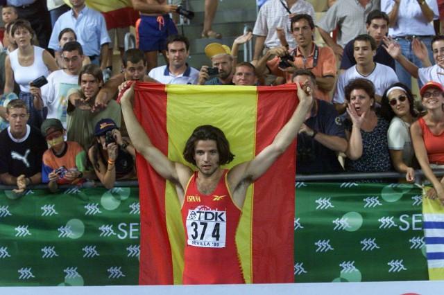 Yago Lamela en 1999, cuando fue subcampeón del mundo