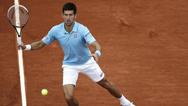 djokovic apea a chardy en Roland Garros