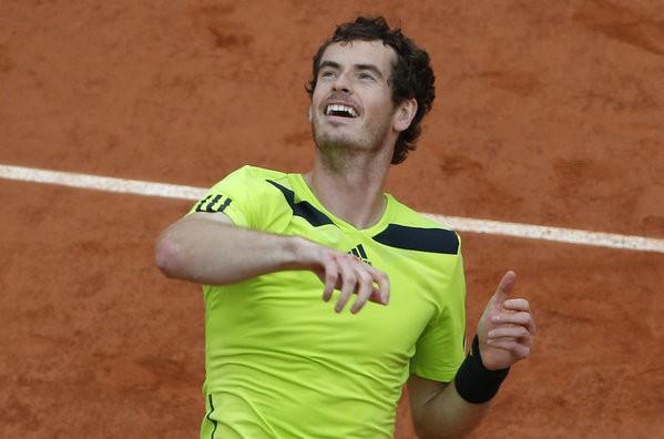 Andy Murray en semifinales