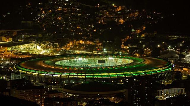 Maracaná luce así en vísperas del comienzo del Mundial