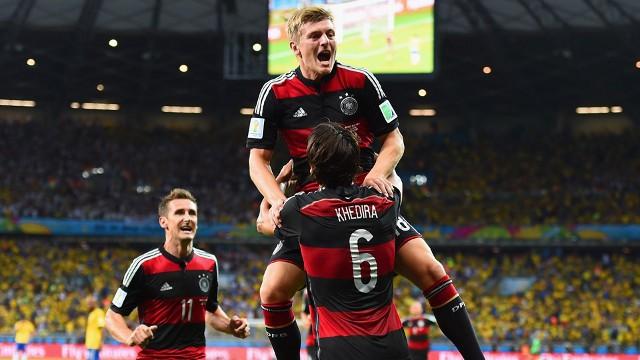 Alemania humilla a Brasil y se mete en la final del Mundial