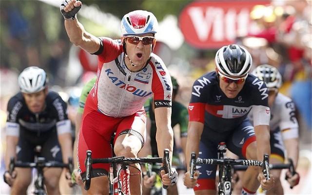 Kristoff repite victoria en el Tour de Francia 2014