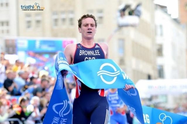Alistair Brownlee ganó el triatlón de Chicago