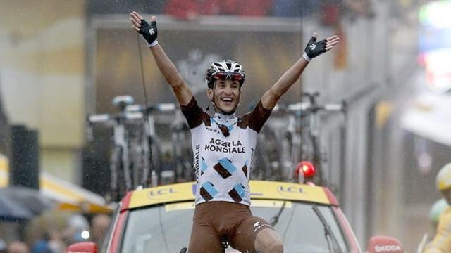 Blel Kadri ganó la primera etapa de montaña del Tour 2014