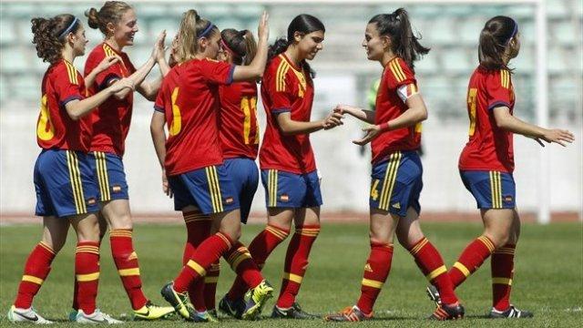 España sub 19, subcampeonas de Europa de fútbol femenino
