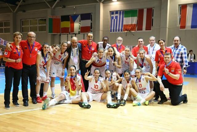 España U20 terminó el Europeo en segundo lugar