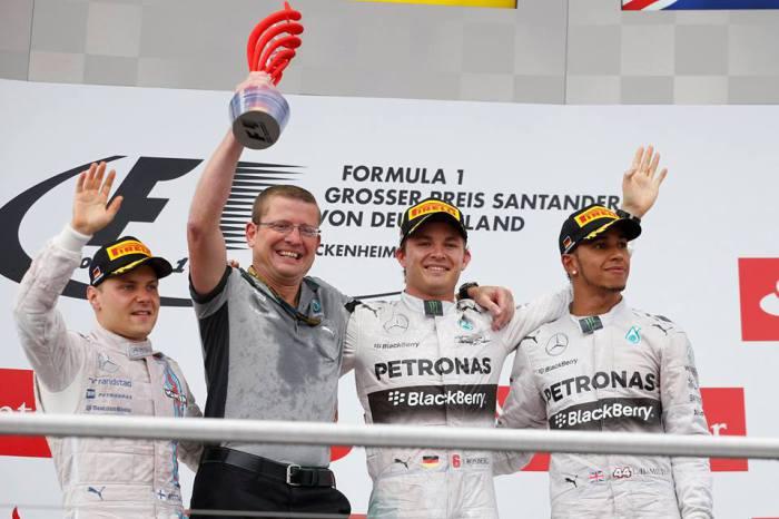 GP Alemania podium