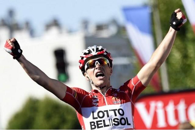 Tony Gallopin ganó la undécima etapa del Tour 2014