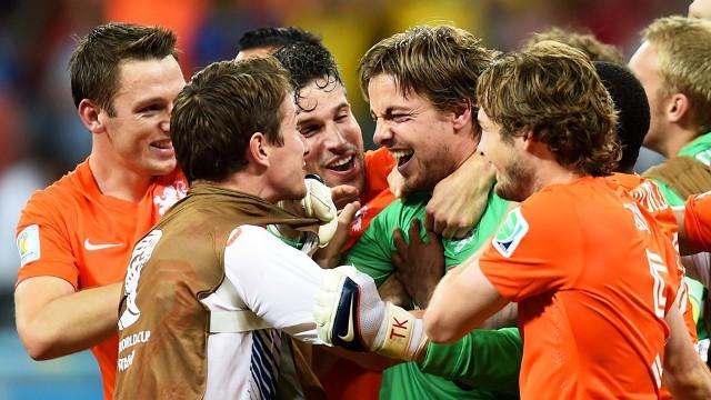 Krul fue el héroe del Holanda - Costa Rica