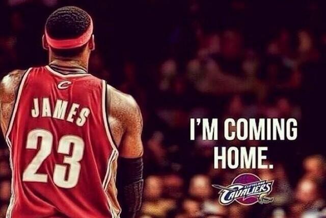 LeBron James vuelve a los Cavaliers