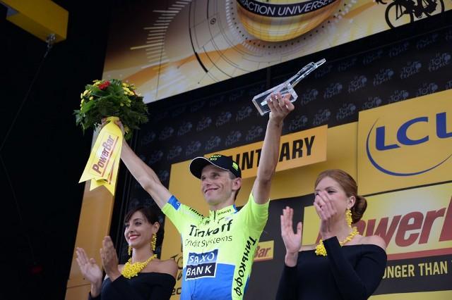 El polaco Rafal Majka lleva dos victorias de etapa en el Tour