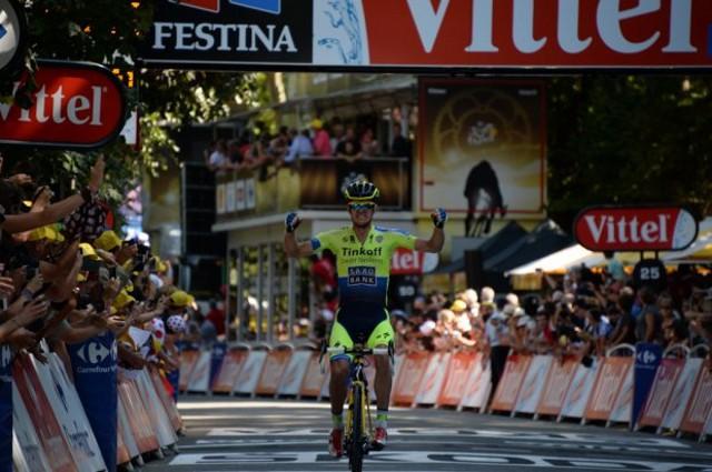 Rogers también ganó etapa en el Tour 2014