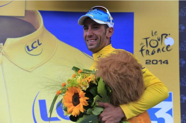 Nibali es el nuevo líder del Tour 2014