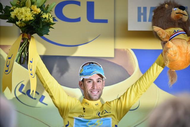 Nibali vuelve a ser líder del Tour 2014