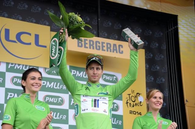 Sagan gana la regularidad del Tour por tercer año consecutivo