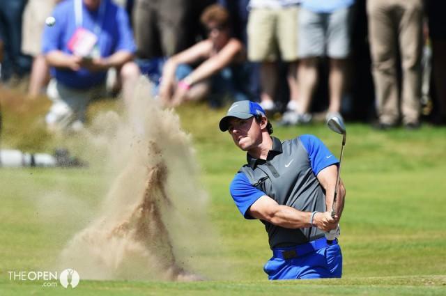 British Open Golf 2014: Rory McIlroy líder tras la 1ª jornada, Sergio García a 2 golpes