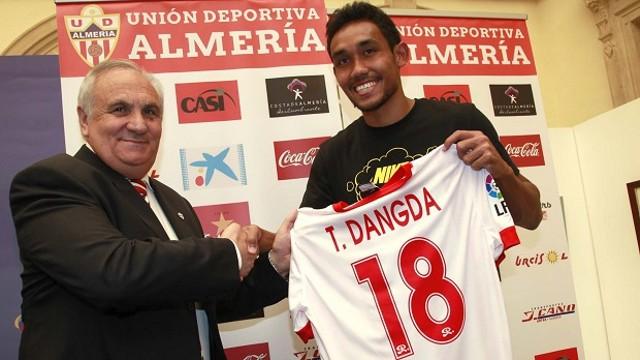Teraasil Dangda será el primer tailandés en jugar en nuestra liga
