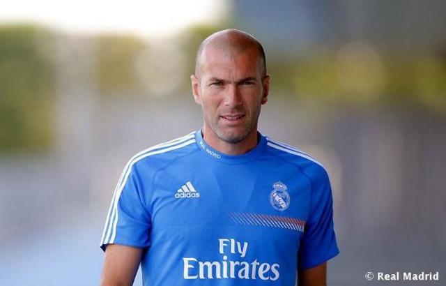 Zidane será entrenador del Castilla