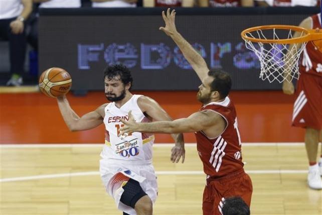 Llull selección española Turquía baloncesto
