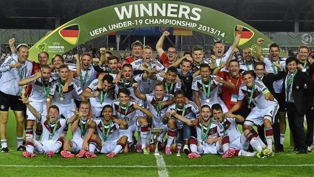 Alemania ganó el Europeo sub 19 de 2014