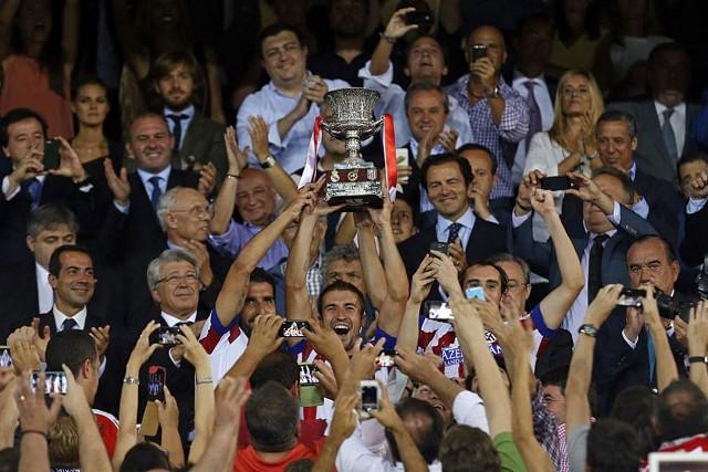 Atlético de Madrid, campeón de la Supercopa de España de 2014